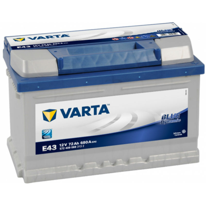 Varta Start Accu E43 72AH